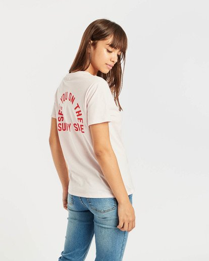 5 Destination T-Shirt Rosa N3SS17BIP9 Billabong