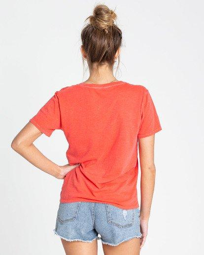 1 Sun Your Buns T-Shirts Rojo N3SS22BIP9 Billabong