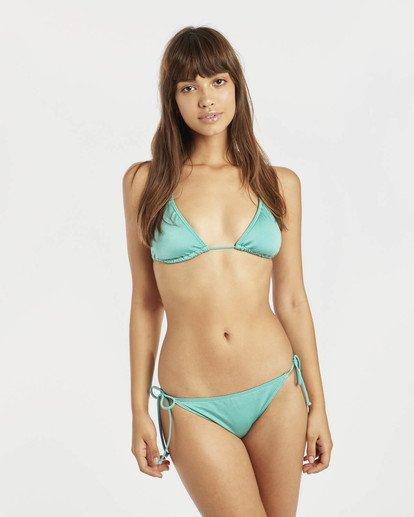 0 Sol Searcher Triangle Bikini Top Grün N3ST02BIP9 Billabong
