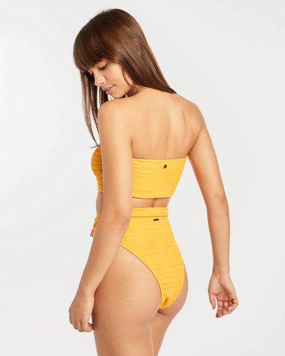 0 Sun Rise Sunny Tube Bandeau Bikini Top Silver N3ST17BIP9 Billabong