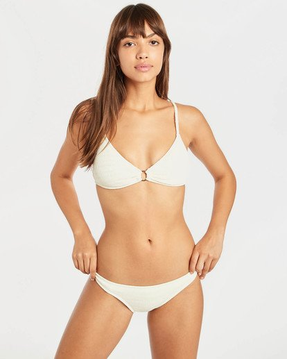 0 Sun Rise Ring Trilet Bikini Top Jaune N3ST18BIP9 Billabong