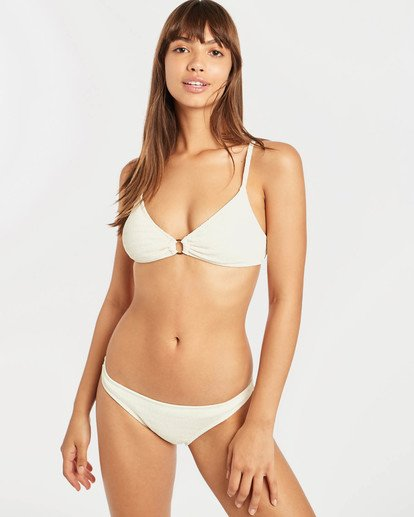 1 Sun Rise Ring Trilet Bikini Top Amarillo N3ST18BIP9 Billabong