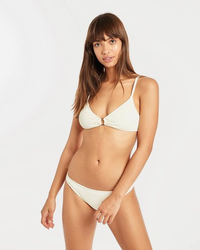 3 Sun Rise Ring Trilet Bikini Top Amarillo N3ST18BIP9 Billabong