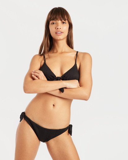 2 Sweet Sands Tide Triangle Bikini Top Black N3ST31BIP9 Billabong