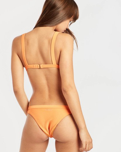 5 Tanlines Fixed Triangle Bikini Top Orange N3ST45BIP9 Billabong