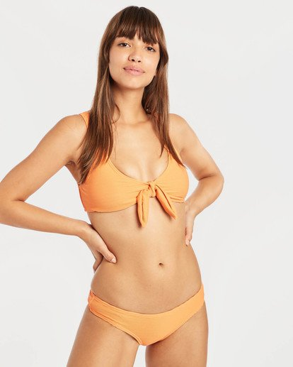 3 Tanlines Hanky Tie Tank Bikini Top Orange N3ST46BIP9 Billabong