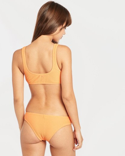 4 Tanlines Hanky Tie Tank Bikini Top Orange N3ST46BIP9 Billabong