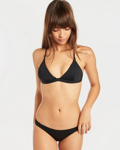 5 Sol Searcher Cross Back Triangle Bikini Top Negro N3ST49BIP9 Billabong