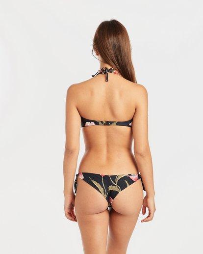 3 Mellow Luv Tie Bandeau Bikini Top Schwarz N3ST50BIP9 Billabong