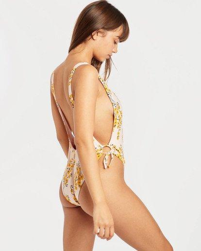 3 Sol Dawn One Piece Swimsuit Pink N3SW07BIP9 Billabong