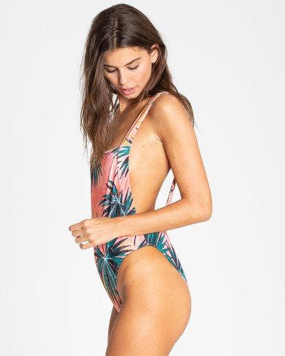 2 Palm Daze One Piece Swimsuit Rosa N3SW19BIP9 Billabong