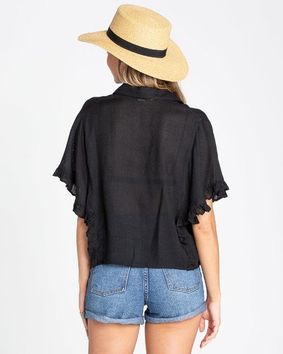 2 Find Me Blouse Top Black N3TP05BIP9 Billabong