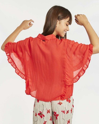 2 Find Me Blouse Top Rouge N3TP05BIP9 Billabong