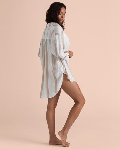 3 Sailing Sundays Oversized Shirt Beige N3TP20BIP9 Billabong