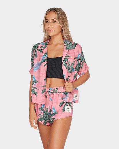 2 Long Island Candybird Shirt Rose N3TP24BIMU Billabong
