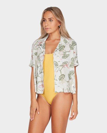 1 Long Island Calypso Shirt Beige N3TP25BIMU Billabong
