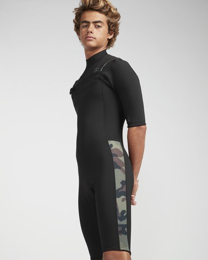 0 2/2 Revolution Gbs Chestzip Camo N42M08BIP9 Billabong