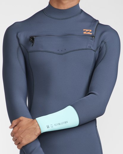 6 2/2 Revolution Gbs Chestzip Blau N42M09BIP9 Billabong