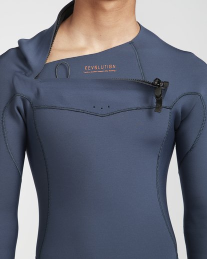 7 2/2 Revolution Gbs Chestzip Blau N42M09BIP9 Billabong