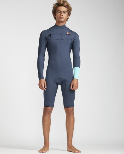 1 2/2 Revolution Gbs Chestzip Blau N42M09BIP9 Billabong