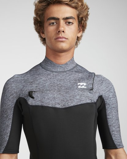 5 2/2 Absolute Flatlock Chestzip Grau N42M23BIP9 Billabong