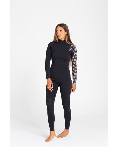 1 3/2 Furnace Carbon Gbs Chestzip Schwarz N43G02BIP9 Billabong