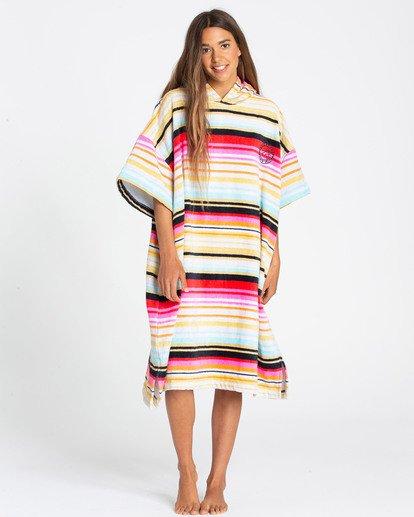 0 Womens Poncho Hoodie Towel  N4BR03BIP9 Billabong