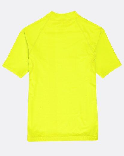1 Unity - Kurzärmeliges Lycra für Jungen Grün N4KY07BIP9 Billabong