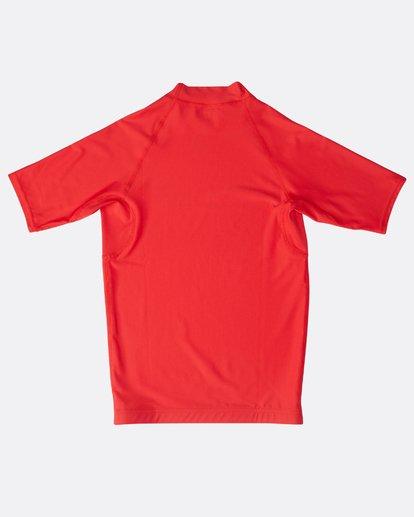 1 Unity - Kurzärmeliges Lycra für Jungen Rot N4KY07BIP9 Billabong