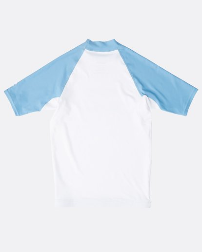 1 Boys' Team Wave Rashguard Blanco N4KY08BIP9 Billabong