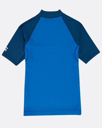 1 Boys' Team Wave Rashguard Blau N4KY08BIP9 Billabong