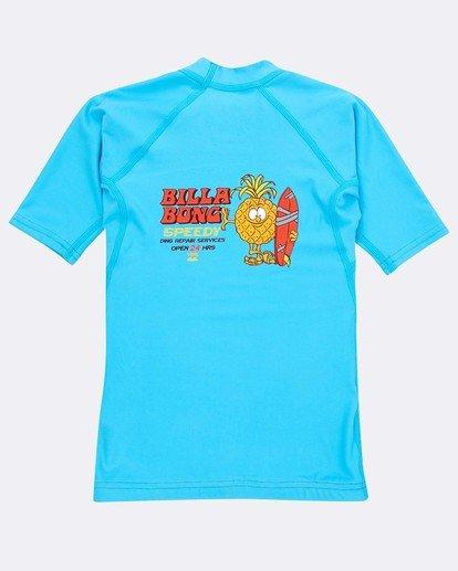 1 Boys Short Sleeve Rashguard Azul N4TY05BIP9 Billabong