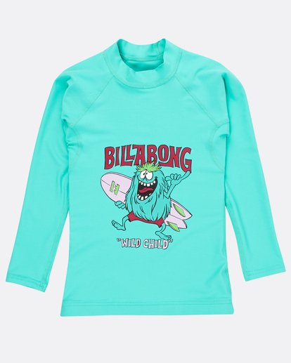0 Boys Long Sleeve Rashguard Verde N4TY06BIP9 Billabong