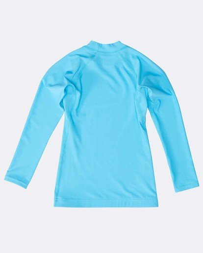 1 Boys Long Sleeve Rashguard Blau N4TY06BIP9 Billabong