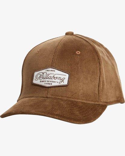 0 Walled Stretch Hat Brown N5CF01BIP9 Billabong