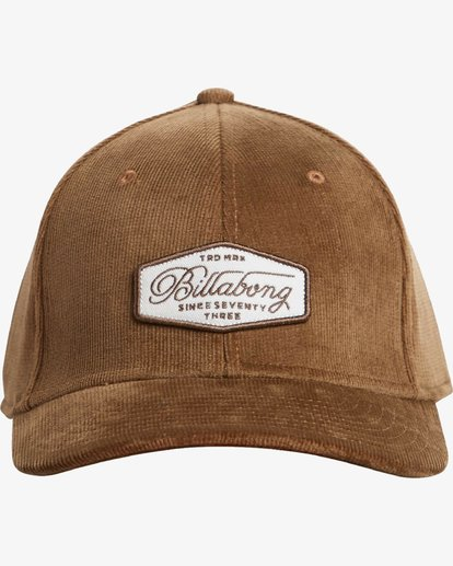 1 Walled Stretch Hat Marron N5CF01BIP9 Billabong