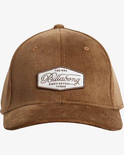 1 Walled Stretch Hat Brown N5CF01BIP9 Billabong