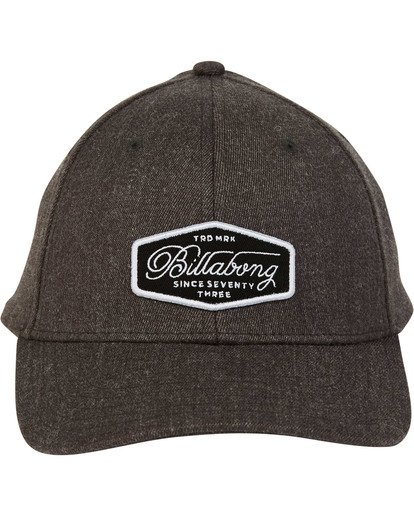 0 Walled Snapback Grau N5CM02BIP9 Billabong