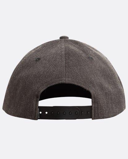 2 Theme Snapback Hat Grey N5CM03BIP9 Billabong