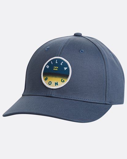 0 Theme Snapback Hat Blue N5CM03BIP9 Billabong