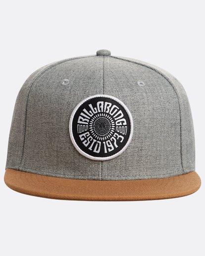 1 Spirit Walker Snapback Hat Grey N5CM04BIP9 Billabong