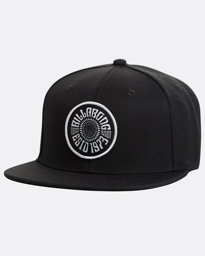 0 Spirit Walker Snapback Hat Noir N5CM04BIP9 Billabong