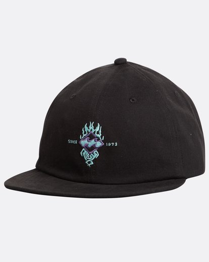 0 Arch Fire Snapback Hat Negro N5CM05BIP9 Billabong