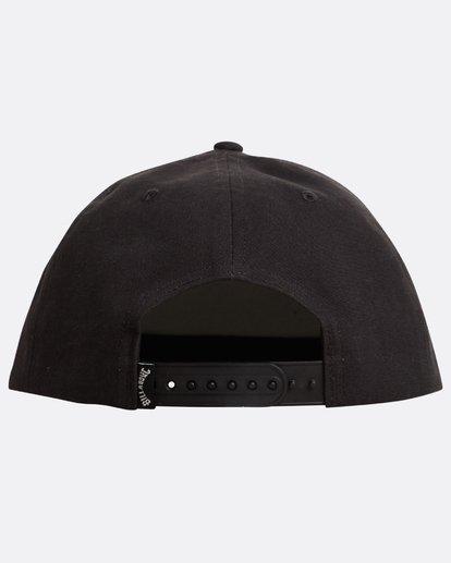 2 Arch Fire Snapback Hat Negro N5CM05BIP9 Billabong