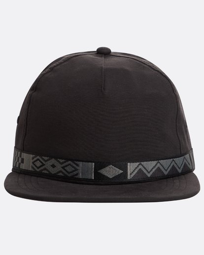 1 Atlas Snapback Hat Noir N5CM06BIP9 Billabong