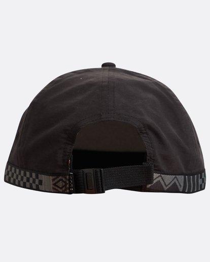 2 Atlas Snapback Hat Noir N5CM06BIP9 Billabong