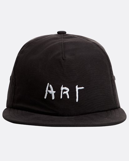 1 Basquiat Art Ladcap Hat Negro N5CM10BIP9 Billabong
