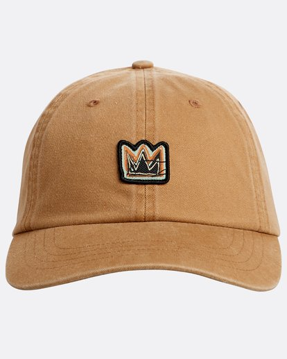 1 Basquiat Crown Lad Hat Green N5CM11BIP9 Billabong