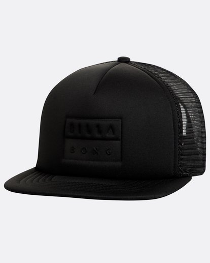 0 Die Cut Trucker Hat Schwarz N5CT01BIP9 Billabong
