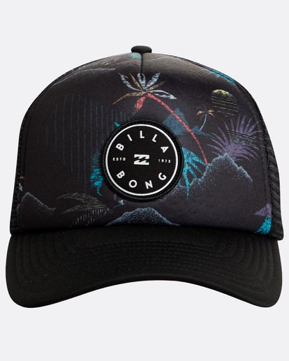 1 Scope Trucker Negro N5CT02BIP9 Billabong